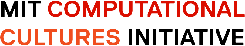 MIT Computational Cultures Initiative